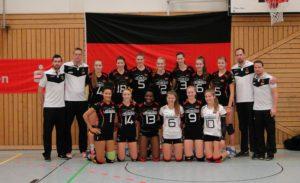 Deutsche U20 Nationalmanschaft am 29.12.2016